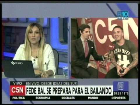 C5N - ESPECTACULOS: FEDE BAL SE PREPARA PARA EL BAILANDO