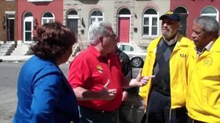 Governor Larry Hogan Visits Sandtown-Winchester Neighborhood