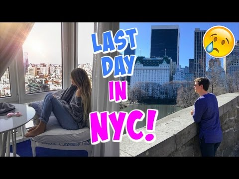 LAST DAY IN NYC!!!