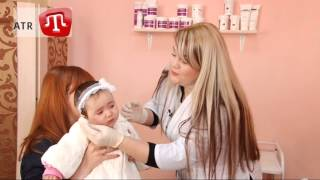 видео Прокалывание ушей у детей