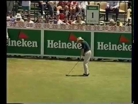 1995 Australian Open Golf won by Greg Norman | 7 Sport | Kingston Heath Golf Club