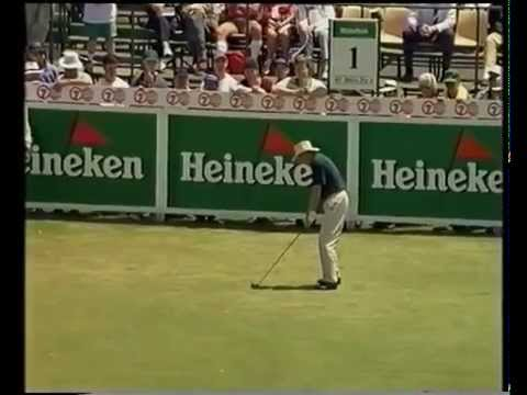1995 Australian Open Golf won by Greg Norman | 7 Sport | Kingston Heath Golf Club