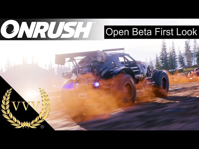 Onrush | Open Beta First Look | PS4