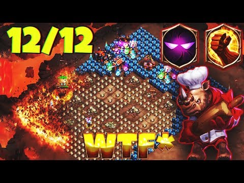 12/12 ROCKNO | Unholy Pact | HOLLY DESTRUCTION | 8 Brute Force | GAMEPLAY | CASTLE CLASH