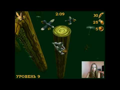 Gameplay Rosso Rabbit in trouble Part 2 / Прохождение игры Побег из крольчатника Часть 2