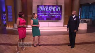 3 signs he's not into you STEVE HARVEY