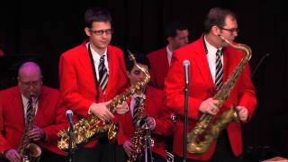 "The World Famous Glenn Miller Orchestra, ""In the Mood"", Bienes Center St. Thomas Aquinas 2015"