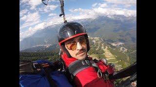Дима Билан исполняет свою мечту о полёте на парашюте