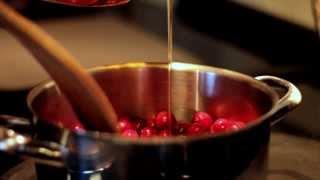 Aga Total Control Thanksgiving Series: Cranberry Sauce