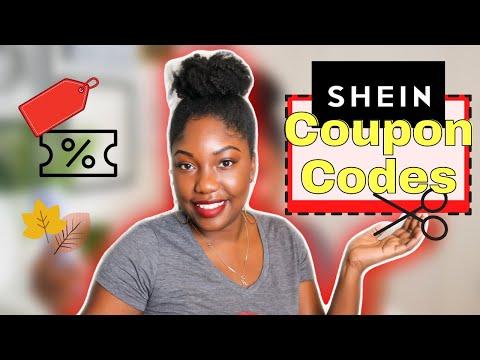 SHEIN FALL COUPON CODES 2020