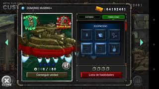 Metal Slug Attack - Spoiler de unidades V. 2.13
