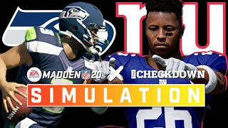 Battle for a Playoff Spot! Seahawks vs. Giants Week 13 Full Game