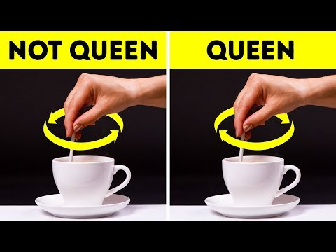 What If You Were Invited to Have Tea with the Queen