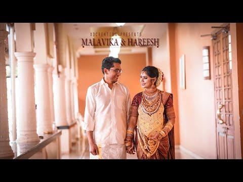 Malavika &  Hareesh Guruvayoor Temple Wedding 2020