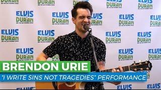 "Brendon Urie - ""I Write Sins Not Tragedies"" Acoustic Performance | Elvis Duran Exclusive"