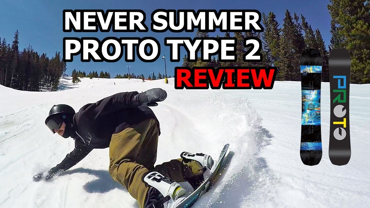 f8c7d3caee98 Never Summer Proto Type 2 Snowboard Review - YouTube