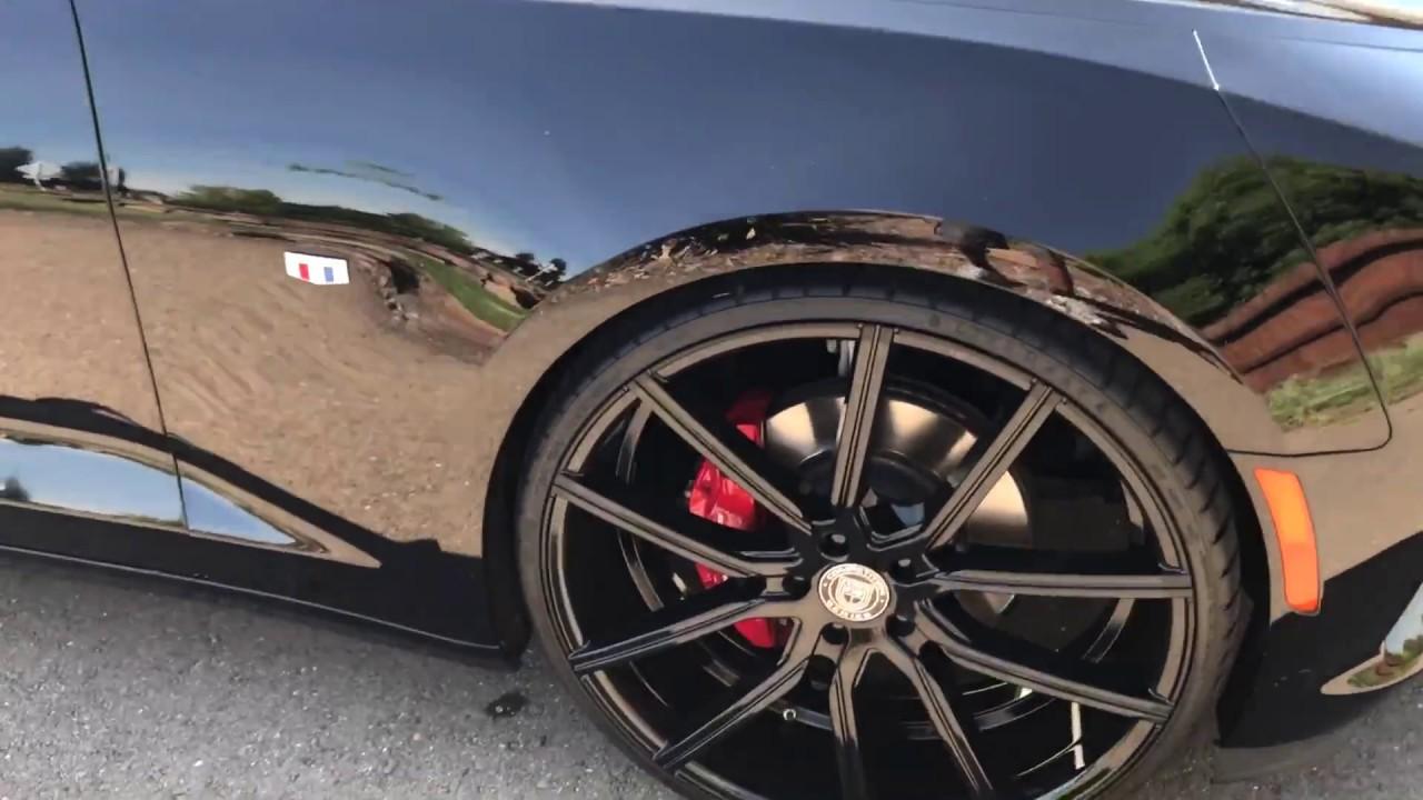 2016 Camaro Ss On 24 Lexani Wheels