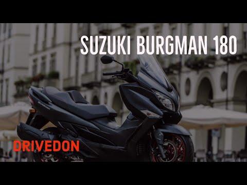 Suzuki Burgman 180cc - First Impressions And Spec Review