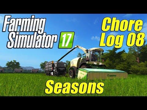 Farming Simulator 17: Chore Log 8 - Seasons on GG Dusty Cove!