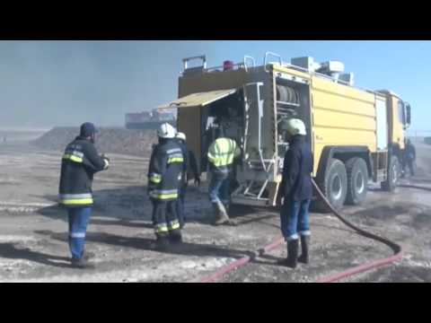 Libya oil storage tanks set on fire during IS assault