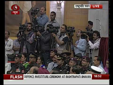 FULL EVENT: Defence Investiture & Civil Investiture Ceremony at  at the Rashtrapati Bhavan