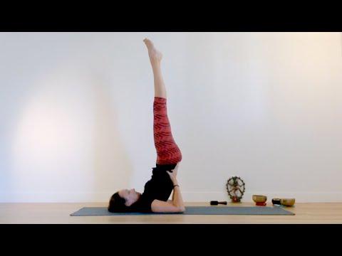 Cours de Yoga Hatha doux pour un sommeil doux<br>par Laurence Merchet<br>Durée : une heure