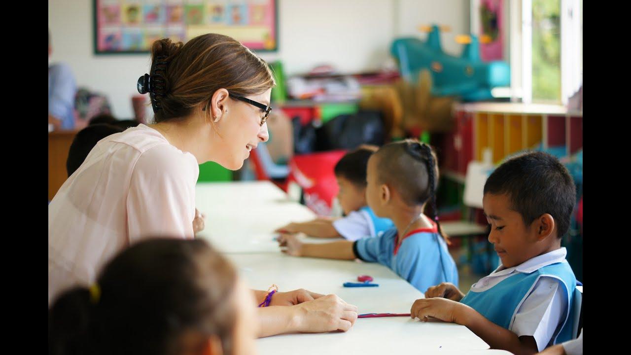 Teaching English Kindergarten Students In Thailand