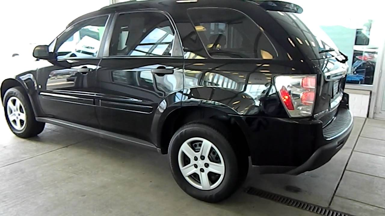 Black 2006 Chevy Equinox LS AWD  Eastside Mazda VW in Cleveland