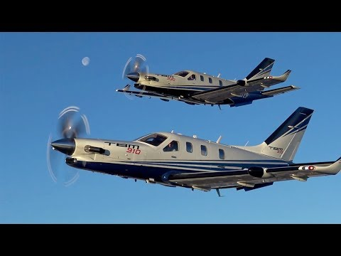 Daher's TBM 910 and 930 Single-Engine Turboprops Fly at Jet Speeds – AINtv