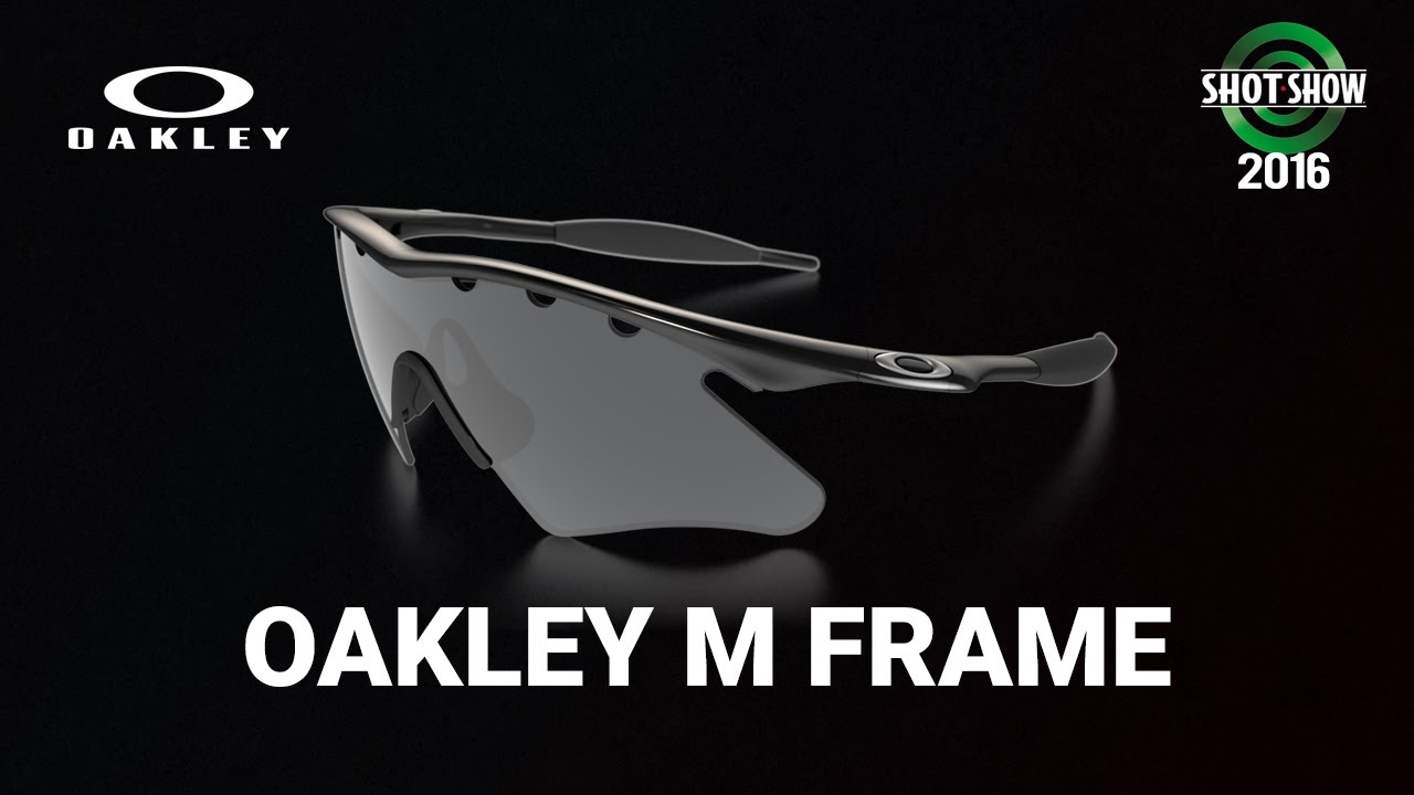 oakley m frame alpha shot show 2016 youtube