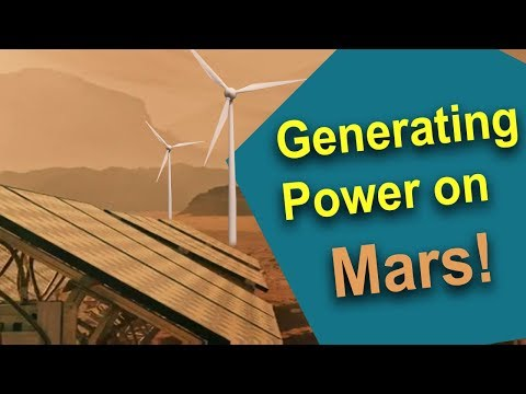 How will we generate electricity on Mars? The Case for Mars