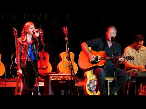 James Hetfield and Cali Hetfield   I Put A Spell On You Acoustic 4A Cure, 2016