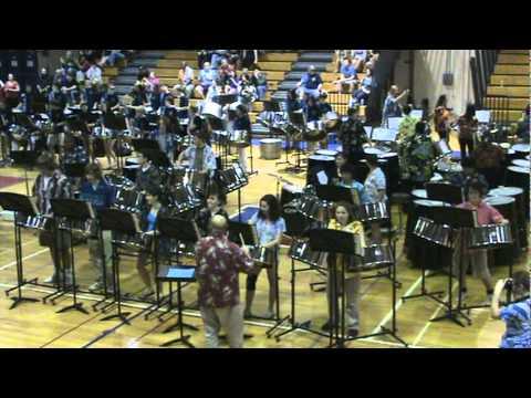 Parkville High School Steel Drum Band Panorama Mass Band 31811 Shake Senora