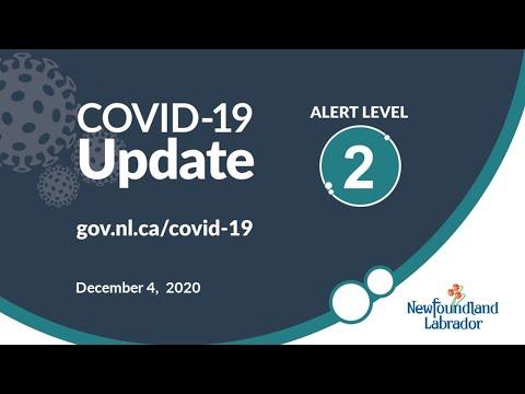 December 4, 2020 COVID-19 Update