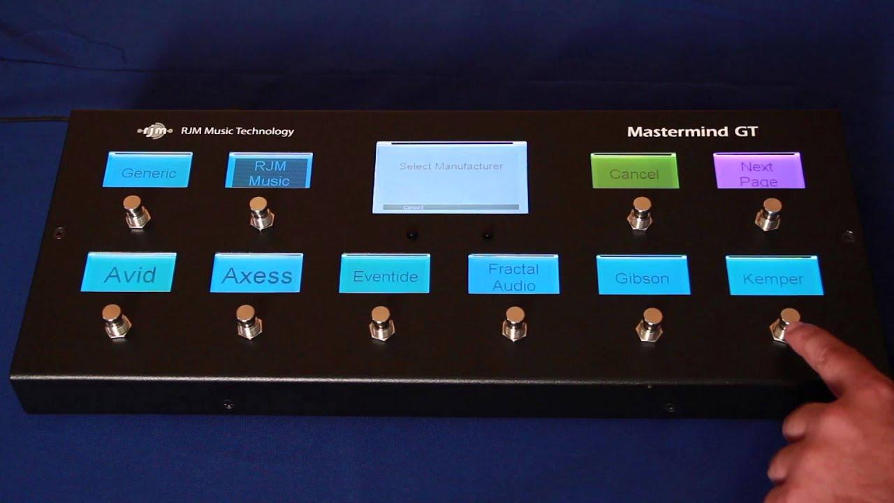 Mastermind GT/10 | RJM Music Technology, Inc