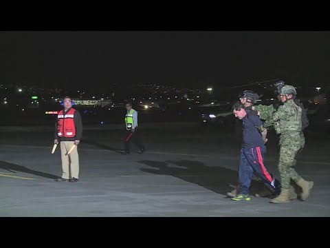 "Mexico's Notorious Drug Lord ""El Chapo"" Guzman Faces Justice In A US Courtroom"