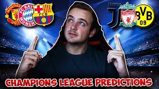 My Champions League 2018/19 MATCHDAY/GAMEWEEK 3 PREDICTIONS!