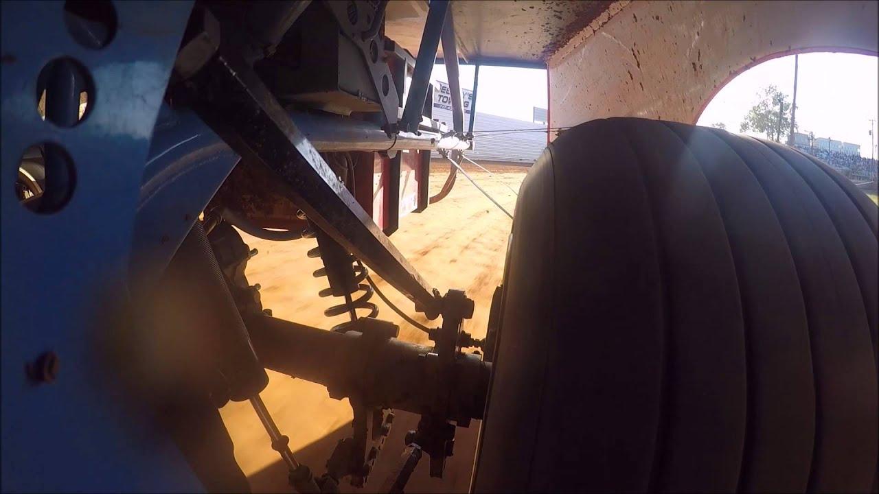 Dirt Late Model Left Rear Suspension