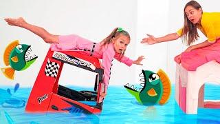 Kinderlied - Der Boden ist Wasser   The Floor is Water - Kids Song