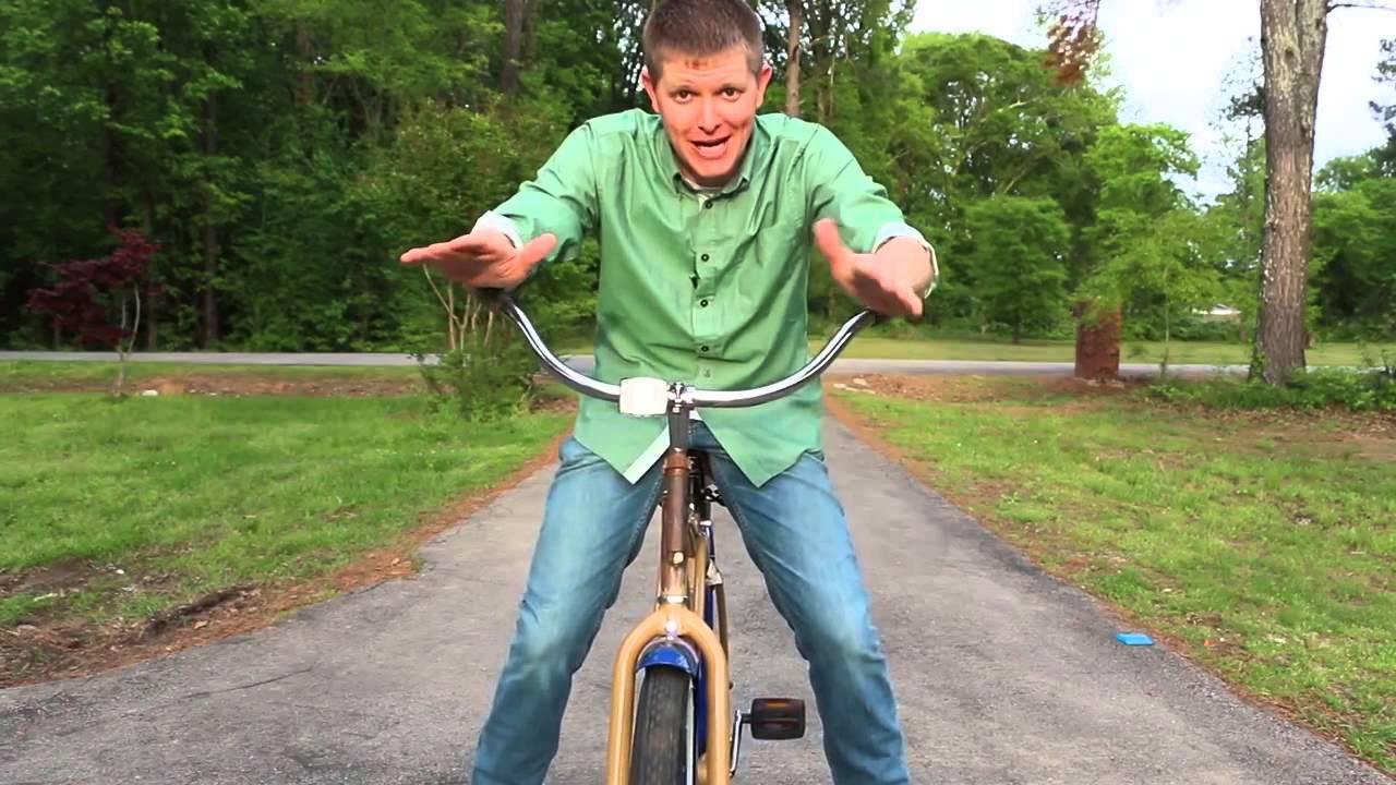 (Как разучиться ездить на велосипеде) The Backwards Brain Bicycle Smarter Every Day 133