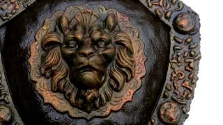 Щит с головой льва купить красивые кованые изделия(посмотреть http://kovka-dveri.com .. Щит с головой льва купить красивые кованые изделия. Щит с головой льва купить..., 2016-10-10T10:46:03.000Z)