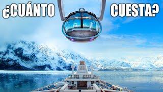 CUÁNTO CUESTA UN CRUCERO POR ALASKA?  💰🚢