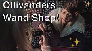 The Most MAGICAL Wand Fitting! - Ollivanders Wand Shop Show