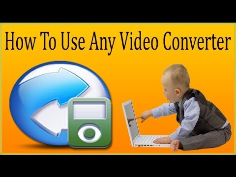 How To Use Any Video Converter /AVC Converter