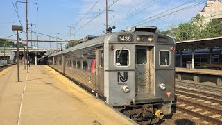NJ Transit HD 60fps: Riding Train 3830; Trenton to New York Penn Station (8 Car Arrow III EMU)