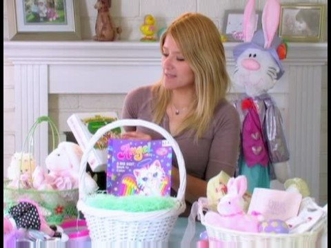Personalized easter baskets for kids adding books to girl easter personalized easter baskets for kids adding books to girl easter baskets negle Images