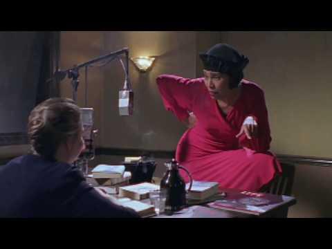 Zora Neale Hurston played by Kim Brockington