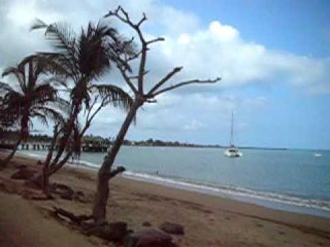 São Tomé. Trip to the aeroport