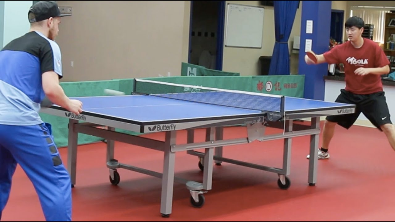 What It Takes To Be An Olympic Table Tennis Player Youtube
