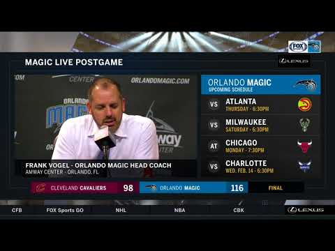 Frank Vogel -- Orlando Magic vs. Cleveland Cavaliers 02/06/2018